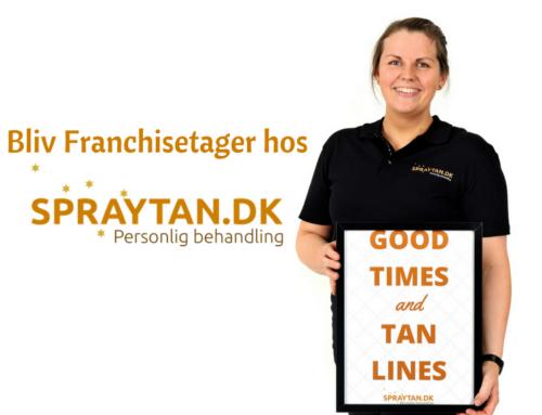 Kom til Foredrag om Spraytan.dk! Lørdag 22.02.20 kl. 14:00 – MAX 8 Pladser.