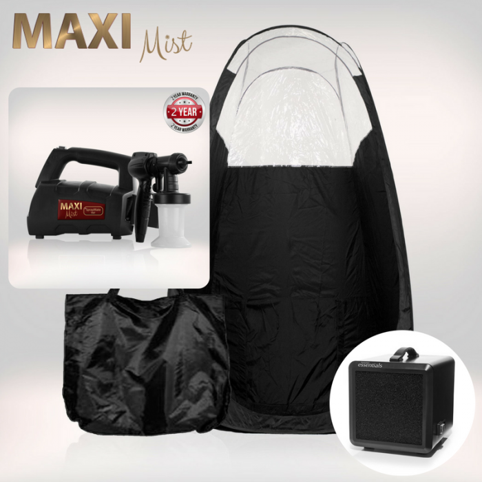 MaxiMist™ SprayMate - inkl. Telt & Afledningsmaskine