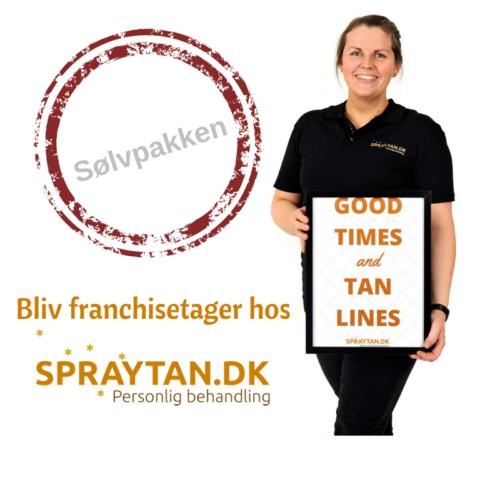 Sølvpakken - Køb dig ind i Spraytan.dk og bliv franchisetager.