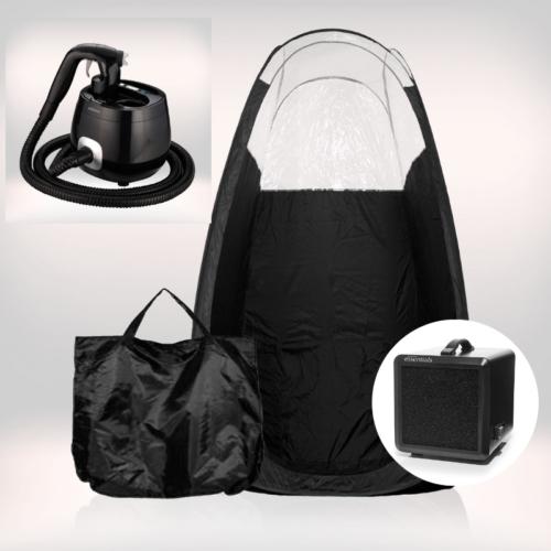 Tanning Essentials™ 'Pro V' Spraytan Maskine inkl. Spraytan Telt og Afledningsmaskine