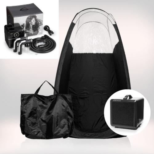 Tanning Essentials™ 'Rapid Tan' Spraytan Maskine inkl. Spraytan Telt og Afledningsmaskine