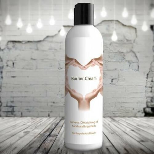 Barrierecreme til spray tan