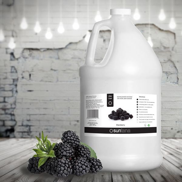 Ekstra mørk spray tan væske - 4 liter