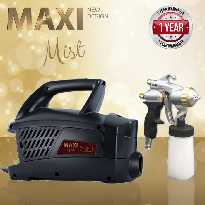 MaxiMist™ Evolution PRO & Tanning Essentials™Turbo Twister Tower – Triple Unit Spray Tan Kabine